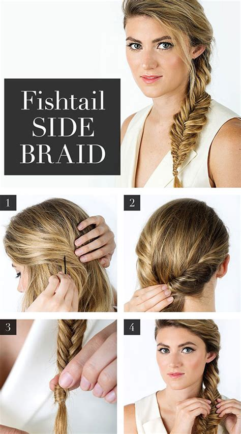 how to i plait my own side hair 15 step by step summer hairstyle tutorials for beginners