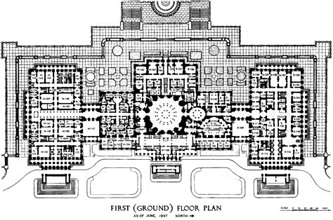 Us Capitol Building Floor Plan | file us capitol first floor plan 1997 105th congress gif