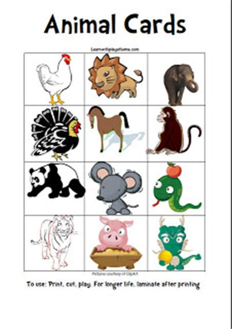 printable animal movement cards learn with play at home 5 fun games to get kids up and
