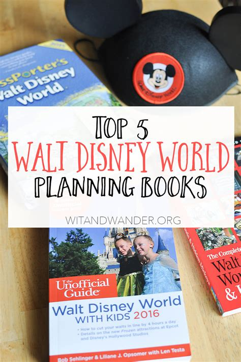 don t plan your disney vacation without these 5 books