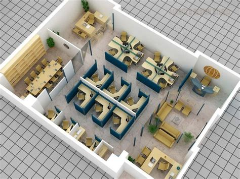 office layout planner 3d 3d office layout plan with cubicle meeting room