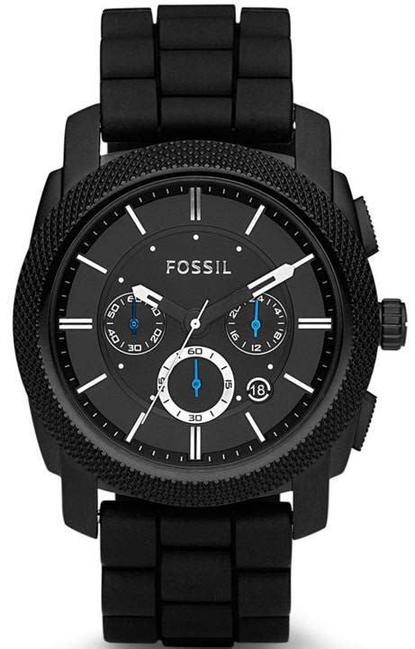 Jam Tangan Fossil Original Fossil Jr1491 Nwt Authentic s black fossil machine chronograph fs4487