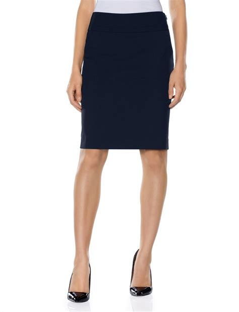 collection wide band pencil skirt s skirts the