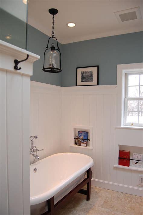 Wainscoting A Bathroom by Fairfield Farm Bath Remodel Included Lots Of Custom