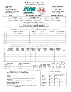 printable usbc card softball roster template forms fillable printable