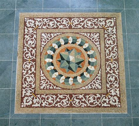 real mosaic traditional and contemporary roman mosaics gaucin andalucia spain classic