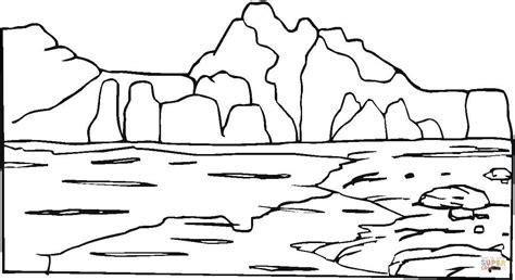 Coloring Page Rocks by Dibujo De Monta 241 As Y Rocas Para Colorear Dibujos Para