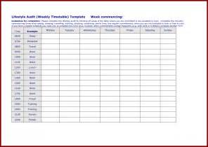 Timetable Template by Doc 29692272 Weekly Timetable Template Free Weekly