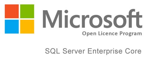 Microsoft Sql Server Enterprise microsoft sql server enterprise 2017 open licence