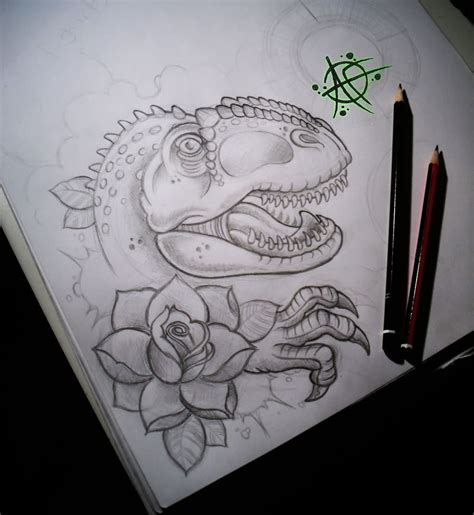 dinosaur tattoo designs 45 awesome dinosaur tattoos