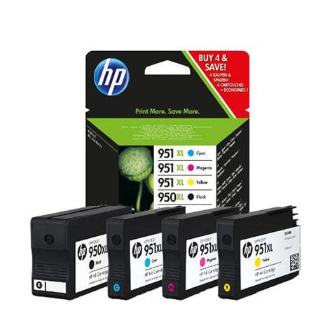 Barang Istimewa Catridge Hp 951 Xl Cyan hp 950xl black and 951xl colour ink combo pack c2p43ae