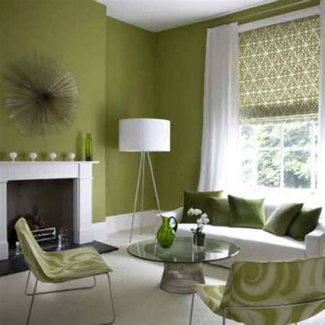Green Paint Colors For Living Room by Green Accent Wall The Doodle House