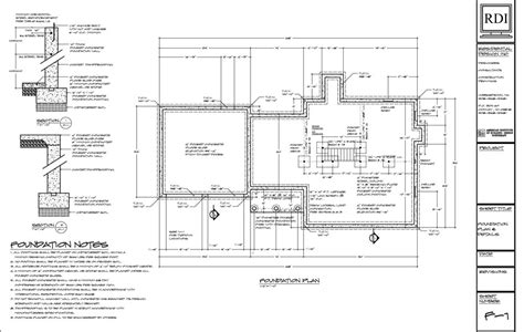 layout plan for foundation foundation plan of a 2 storey house home mansion