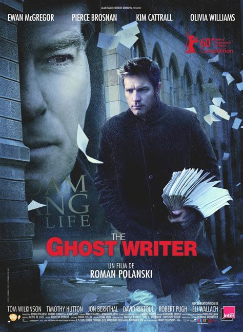 ghostwriter movie pierce brosnan files the ghost writer gallery posters