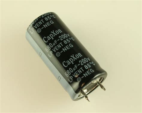 aluminum electrolytic capacitors vent lp681m200m460cx capxon capacitor 680uf 200v aluminum electrolytic snap in 2020032048
