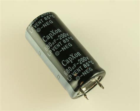 electrolytic capacitor venting lp681m200m460cx capxon capacitor 680uf 200v aluminum electrolytic snap in 2020032048