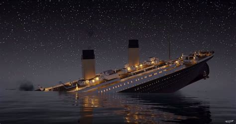 du mammouth au titanic titanic sinks real time is 2 hours 40 minutes of the ship meeting its demise metro news