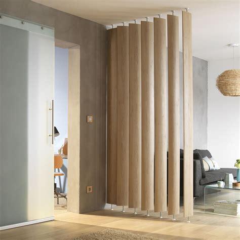 Room Seperator by Ella White Oak Room Divider Single Blade Departments