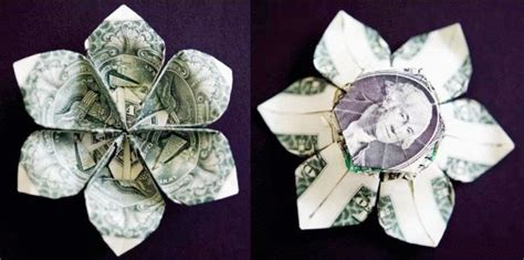 How To Make Money Out Of Paper - money origami flower edition 10 different ways to fold a