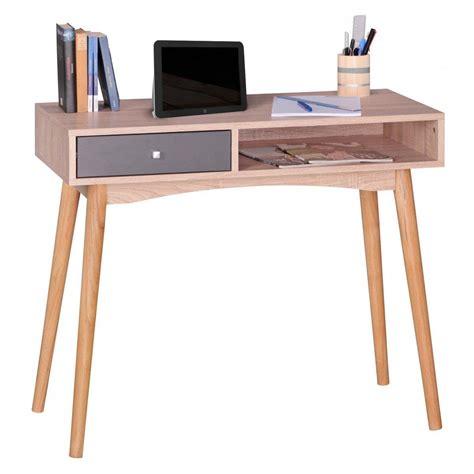 tavolo per computer megan ripiano in legno cm 90x45x78