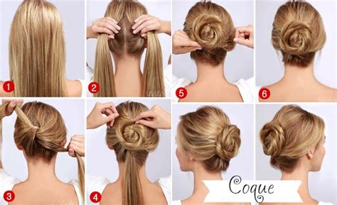 easy to make bun hairstyles easy quick twisted bun hairstyle pictures photos and