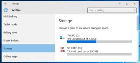 install windows 10 to different drive how to install apps to an sd card or another drive on