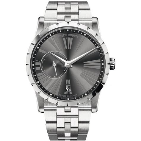 Roger Dubuis Excalibur 42 Stainless Steel Grey Dial On Bracelet