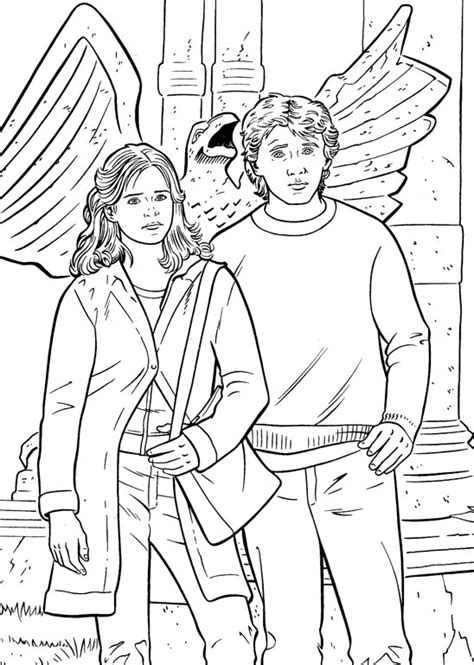 Kids-n-fun.com | 28 coloring pages of Harry Potter 2