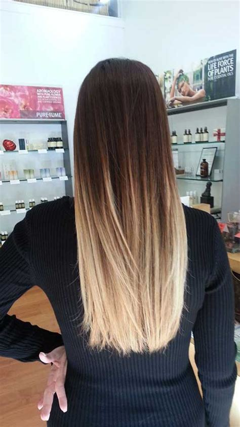 ombre hairstyles blonde to brown dark brown blonde ombre google search treat yourself
