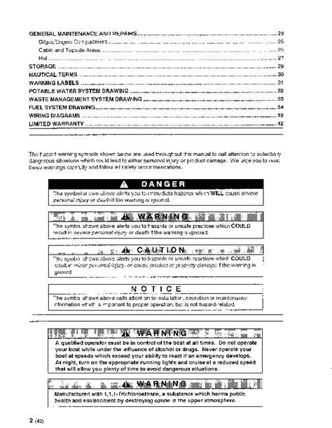 maxum boats manuals maxum 3200 scr sun cruiser boat owners manual 1995