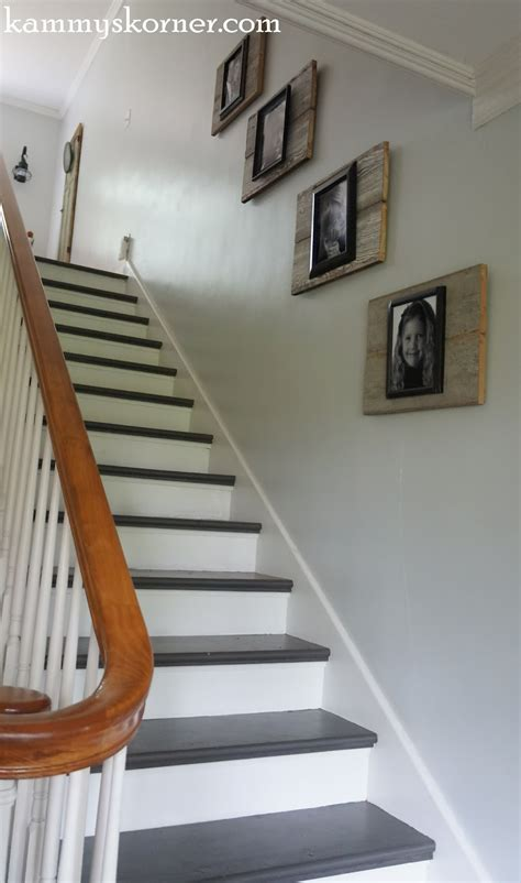 Ideen Treppenhaus Streichen by Kammy S Korner Painting The Stairs With Diy Chalk Paint