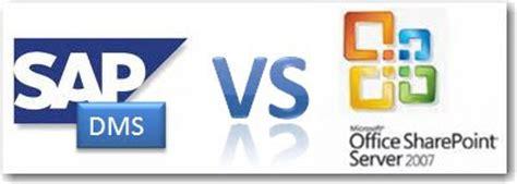 tutorial dms sap david klein s corner sharepoint 2007 vs sap dms vs sap km