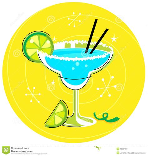 retro cocktail clipart retro drink or cocktail vector illustration