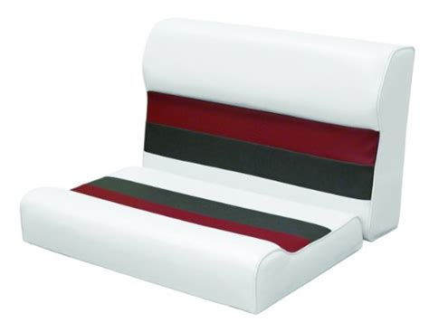 wise 28 inch cushion only pontoon bench seat sportdirs - Pontoon Boat Cushions Only