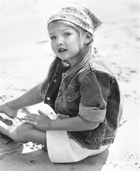 this baby photo of gigi hadid proves she was born to be a gigi hadid model of the year 2015 the artistic soul