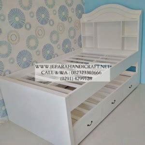 Tempat Tidur Anak Murah Bed Sorong Duco White Nakas Set Kamar Anak dijual tempat tidur anak minimalis laki laki harga murah