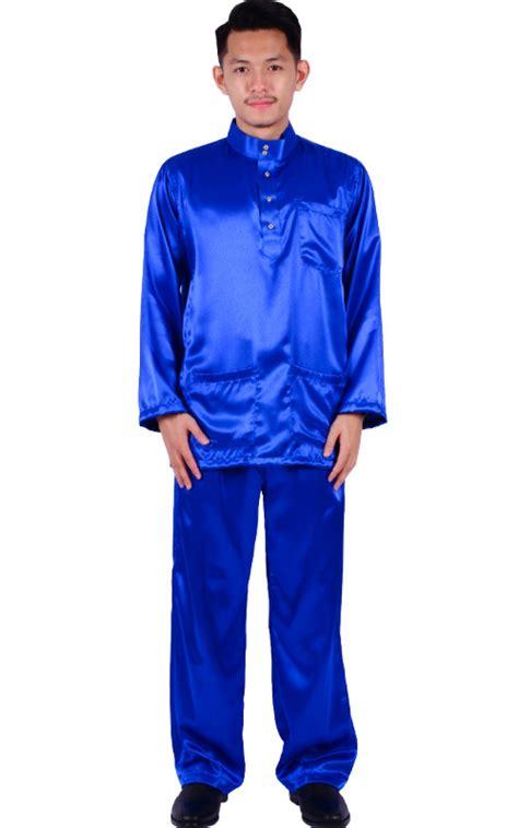 Shaper Baju Pembakar Lemak Shaper Baju baju melayu fezrul blue baju melayu