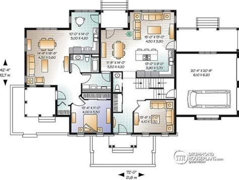 Floor Plans For Multi Family Homes by Multi Family House Plans Apartment House Plans