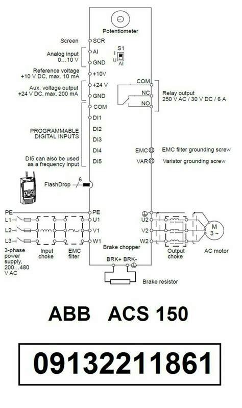 abb inverter wiring diagram jeffdoedesign