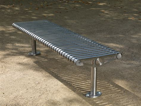 bench steel benches street furniture goosefoot street furniture