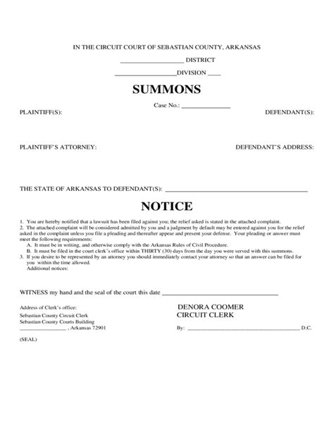 Free Printable Divorce Papers For Arkansas divorce information and forms arkansas free