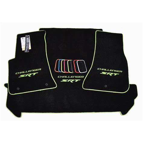 dodge challenger car mats dodge challenger srt floor mats trunk mat set