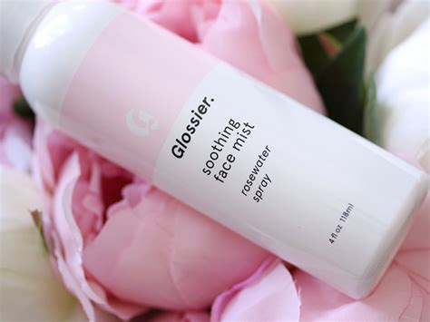 Glossier Soothing Mist getting to the phase 1 skin care set by glossier