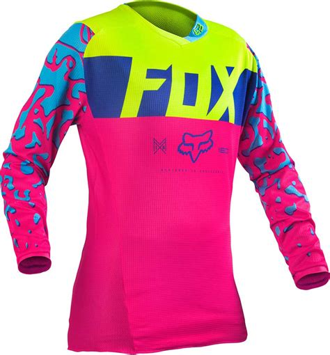 pink motocross gear 2016 fox racing 180 womens jersey motocross dirtbike mx