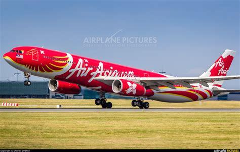 airasia airbus a330 9m xxt airasia x airbus a330 300 at paris charles de