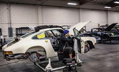 Car Garage Design Ideas inside singer vehicle design the porsche 911 experts by