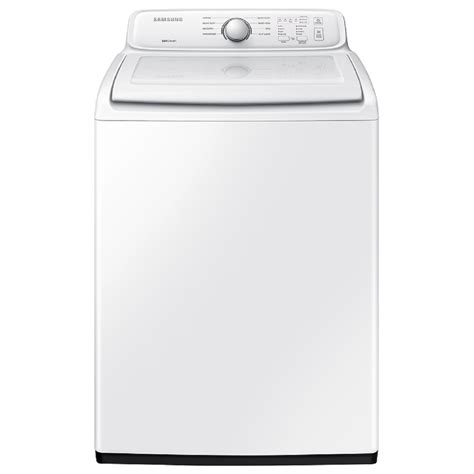 Samsung Washer Shop Samsung 4 Cu Ft Top Load Washer White At Lowes
