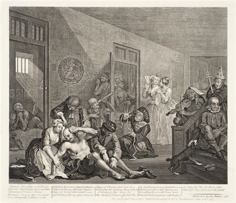 8 Paintings By Hogarth by A Rake S Progress Plate 8 William Hogarth Tate