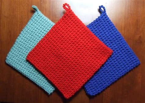 crochet potholder pattern the best crocheted potholder pattern crocheted kitchen