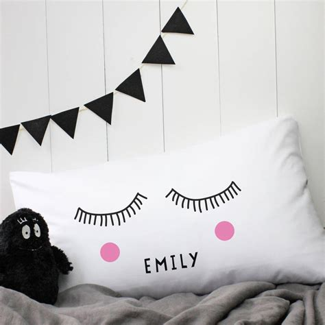 Sleepy Pillow personalised sleepy pillow by a of